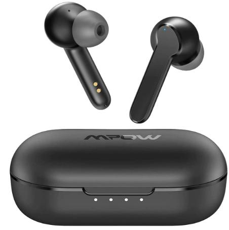 mpow mbits s - earbuds under 50